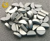 Silver Color PDC Cutters For Stone 1.0-1.2mm Thickness Box Packed