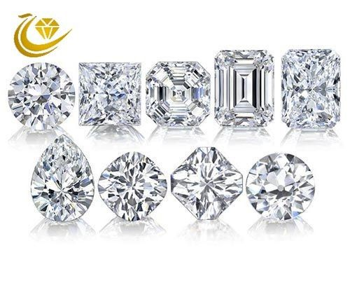 1.3-3mm Round Size Lab Grown Synthetic Diamonds HPHT Diamonds High Grade