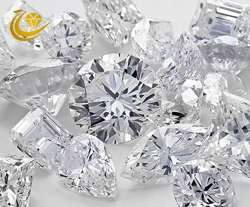 High End Man Made White Diamonds , Artificially Made Diamonds VVS/VS/SI Clarity