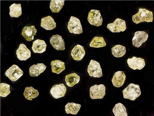 Ultra Fine Grained Natural Industrial Diamond FSD10 Good Brittleness