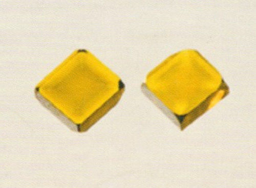 Square  Shape Large Synthetic Diamond Crystal Platelets Multi Functional