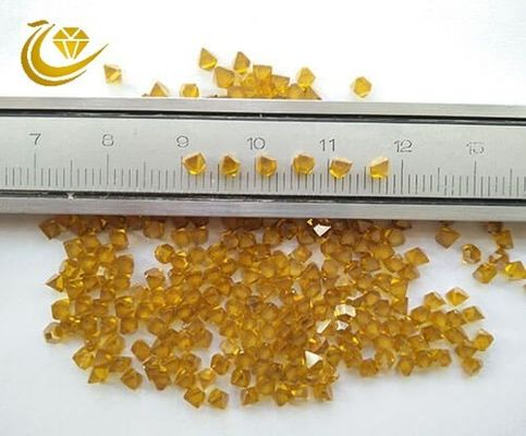 China Single Crystal 80 Loose Lab Created Diamonds Particle State Less Impurity Content factory