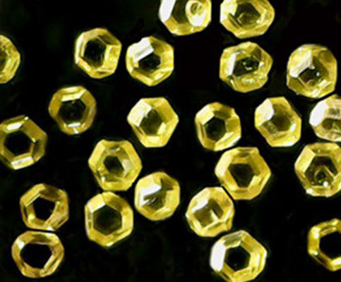 Yellow Industrial Grade Diamonds , Rough Synthetic Diamond Eco Friendly FSD60