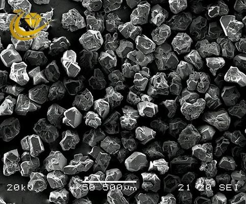 AC Series Rough Industrial Diamonds , Synthetic Gem Diamonds High Performance