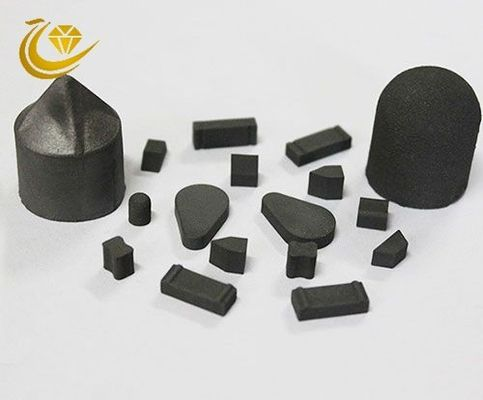 China Thermally Stable Polycrystalline Diamond Tools TSP Diamond Black Color factory