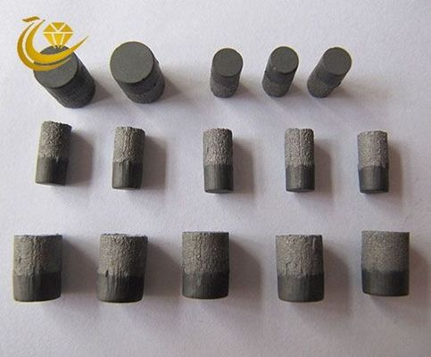 PDC coal mine composite sheet is a diamond powder and carbide substrate sintered at ultra high temperature and pressure